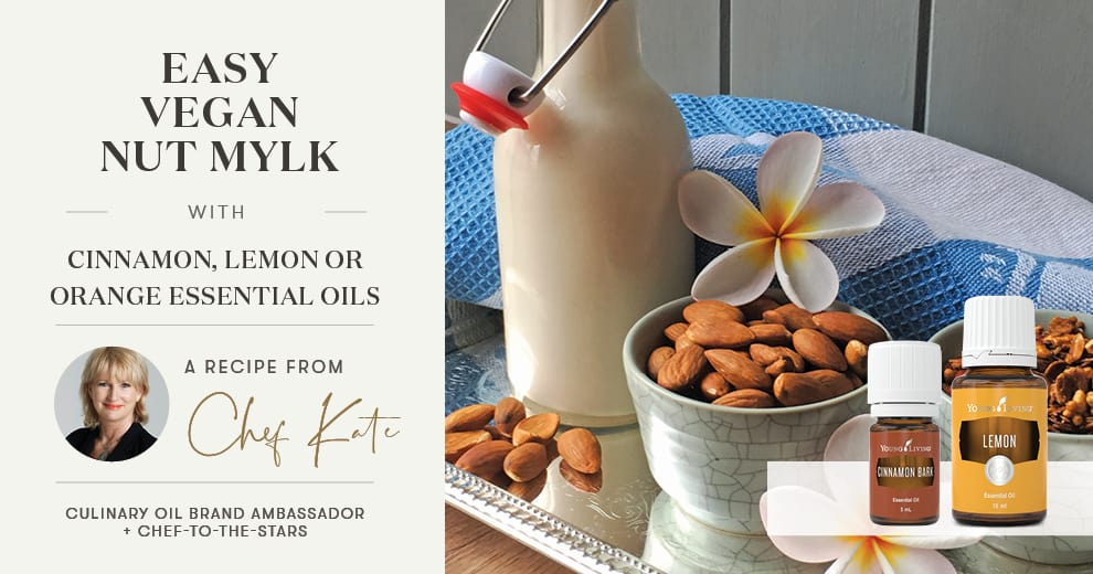 Easy Vegan Nut Mylk