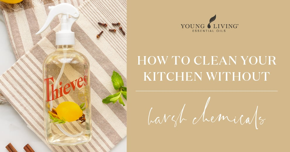 How to clean your kitchen without harsh chemicals