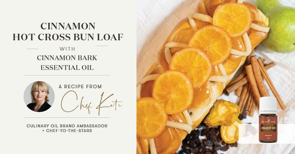 Cinnamon Hot Cross Bun Loaf