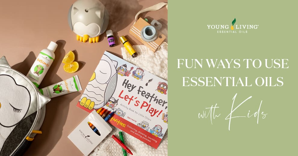 Fun Ways to Use Essential Oils with Kids
